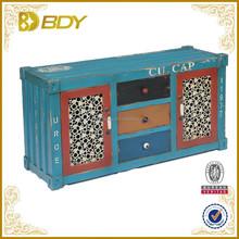 Vintage home furniture decorative living room wood cabinet