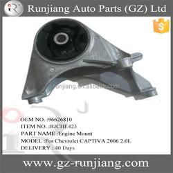 Car parts for chevrolet captiva 2006 spare parts engine mount 96626810