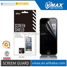"""Vmax perfect fit !! privacy screen protector / screen guard for iPhone 5"""" 5c 5s accessories"""