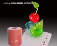silicone sugar blowing mould cherry,non-stick silicone cake stencil,silicon cake mold fruit
