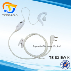 Topradio New Single Ear Headset with PTT For KYD/Kydera NC-680A NC-780 NC-790 NC-730A NC-2000 NC-1000 NC-9600A NC-5500 NC-5800
