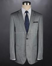 Men's slim cut two button back vent fashion business suits