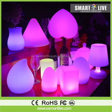 Cheap Fashion Design Bedtime Light Flexible Folding Foldable Indoor Cordless Led Battery Operated Rechargeable Table Lamp