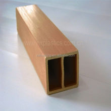 Good stiffness and mechanical properties impact resistance wpc fencing board