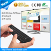 Wireless Bluetooth Mini Size Air keyboard mouse for smart TV BOX 2.4Ghz Red Light keyboard mouse