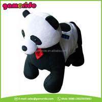 AT0607 China panda toy ride kids electric plush animal motorcycle sale with trade assurance