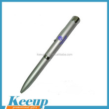Good Promotional Item Metal LED Projector Ball Pen
