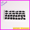 high quality faceted shining crystal stone for garment decoration