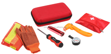 K-Master 8pcs emergency tool set auto road kit with high visibility reflective vest