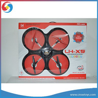 YK0807421 LH-X5 2.4Ghz 4ch 6Axis ufo toy flash led light big professional quadcopter drone rc