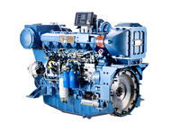 Used for fishing boat , official boats , Weichai WP12C series boat engine