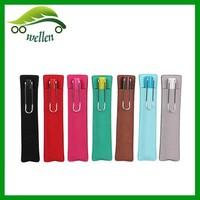2015 Cheap Sale Top Grade High Quality PU Cigar Case Single Pen Case Custom Wholesale Personalized Pencil Cases