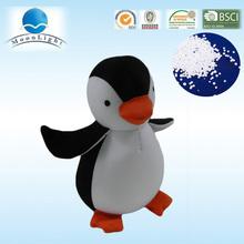 Nuevo diseño, blando y ligero pingüino juguete de nylon y microbolas