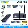 Factory Direct Selling CS918S download free mobile games Allwinner A31 Quad Core 2g 8g 3D remote control Smart Android Tv Box