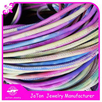 Hot Selling Colourful Real Sheep Stitch Leather Cord