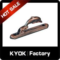KYOK best sale Euro market simple metal curtain hooks, wholesale crystal curtain tieback good price, fany dual curtain rod sets