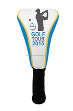 2015 High Embroider Sock Type Golf Driver Headcover, 460cc Golf Head Cover, Golf Accessories
