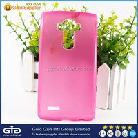 2015 New Products Slim Soft TPU Case For LG G4 H815