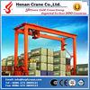75 T Rubber Tire Container Gantry Cranes / RTG Crane Aand 45 T RTG Crane