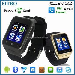 Hottest 1.54inch Dual CPU, WIFI, GPS, FM, Recorder, smart bracelet watch