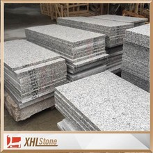 High Quality Bush Hammered G655 White Granite For Project