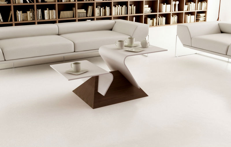 table basse moderne de dupont corian et le bois table en bois id du produit 600000109317 french. Black Bedroom Furniture Sets. Home Design Ideas