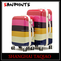 Fashion abs suitcase pc suitcase travel luggage trolley suitcase Sets pc luggage abs hard case