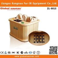 2015 hot sale far infrared sauna capsule for foot and leg spa ZL-001S