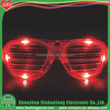 Vampire Fangs Halloween Led glasses Face Painting Adults