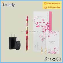 Big vapor e cig univapor gox kit lady ecig replaceable 2.2ohm 0.4ml mini atomizer smart ecig pen