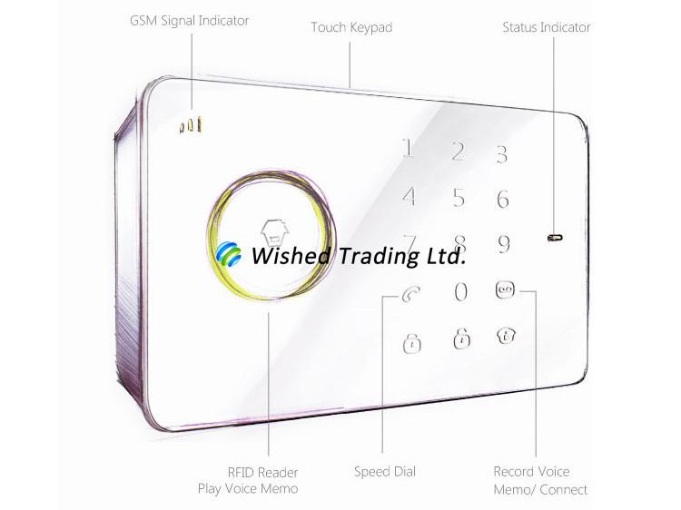 compre sistema de alarma por sms al por mayor inal u00e1mbrico original chuango g5 315mhz seguridad