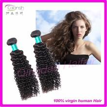 Popular deep weave hair weft virgin hair 100 human hair wig
