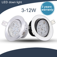wholesale high quality dimmable led down light 9w