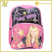 Hannah Montana 16 inch backpack, Cute girl branded school bags