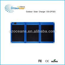 Folding solar panel outdoor solar supply outdoor solar charger mobile solar charger OS-OP303