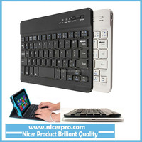 Fashion Design Ultra Slim Multimedia Aluminum Wireless Bluetooth Keyboard For IOS Android PC Windows