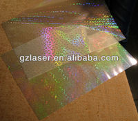 Hologram glossy bopp thermal laminating film