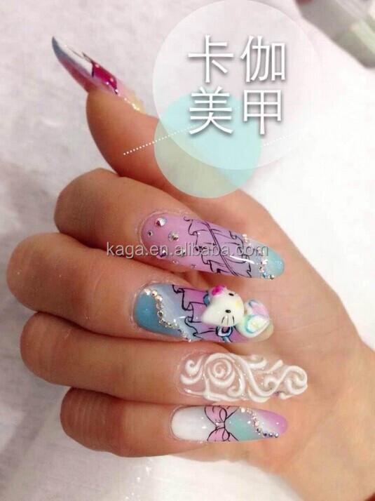 Kaga Nails Spa 3d Gel Nail Art Nails 3d Design Nc26 Buy 3d Gel