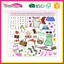 Fashion Product 2015 fancy art painting book for kids