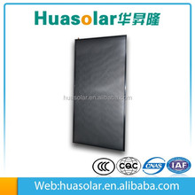 Solar copper tube heat pipe flat solar collector for water heating