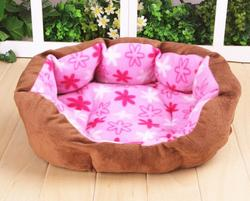 Soft Plush Pet House Dog Puppy Cat Bed Cozy Pet Kennel Nest