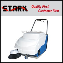 Manual push sweeping machine for pavement cleaning