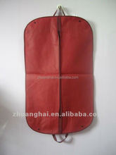 Fashionable Customized logo PP non woven garment bag/suit cover/dress garment bag