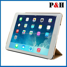 2015 New Sublimation Leather Tablet Cover Case For iPad 6 with factory price