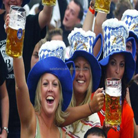 High quality tyrolean hat felt hillbilly hat felt fedora hat QHAT-5731