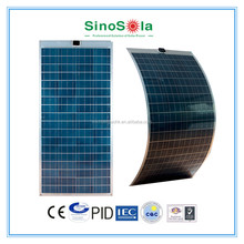 marine solar panel flat/flexible/transparent for choice