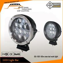 auto accessories market 9-80v 7inch led work light 60w