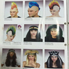 TK-007YIwu Caddy Multi Colour Punk Mohican Rocker Wigs Mohawk Wig for Fancy Party Dress Costume Halloween Synthetic Hair