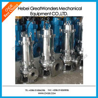 Submersible sewage centrifugal underground water pumps