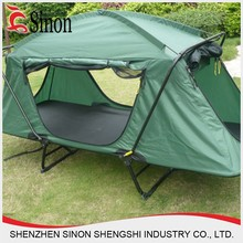 wholsale easy folding military used bed outdoor camping tent